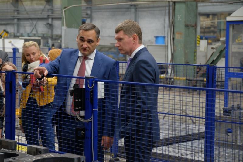 Губернатор Пермского края Решетников М.Г. ознакомился с производством Березниковского механического завода